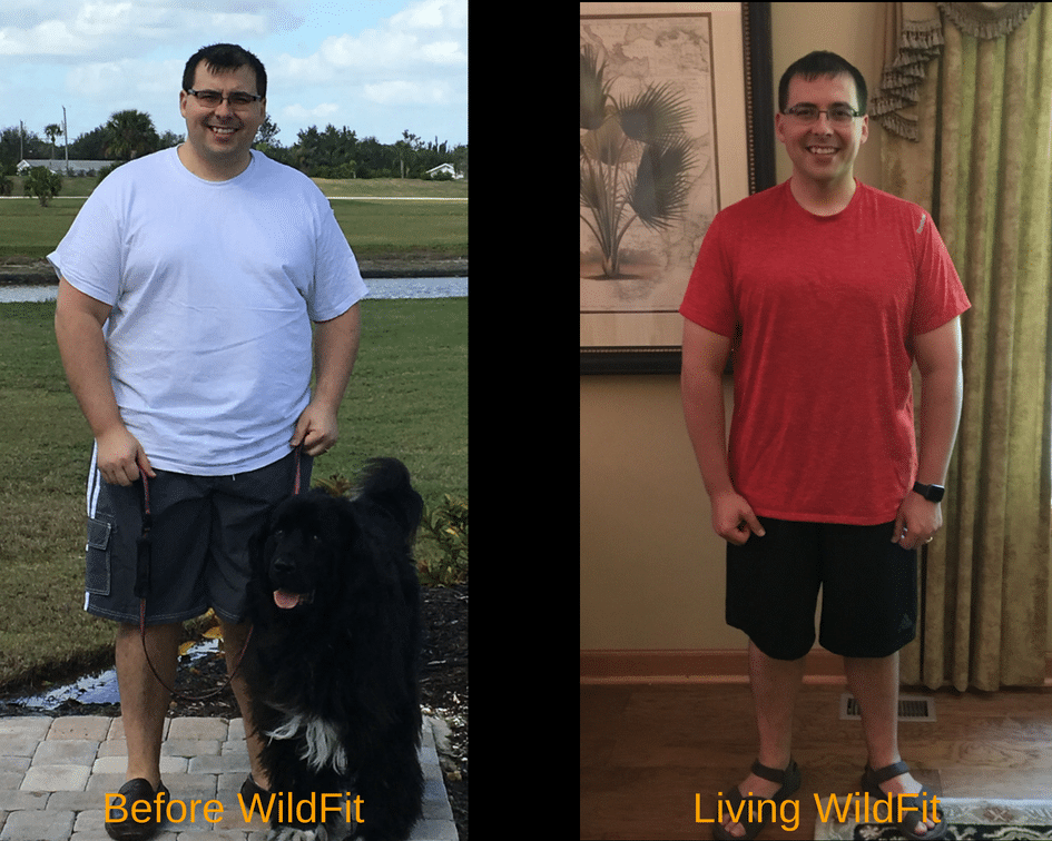 WildFit before and after of Dr. Ryan Wagner