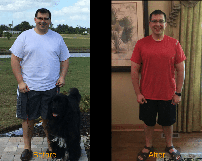 Dr. Ryan Wagner before and after WildFit weight loss Journey