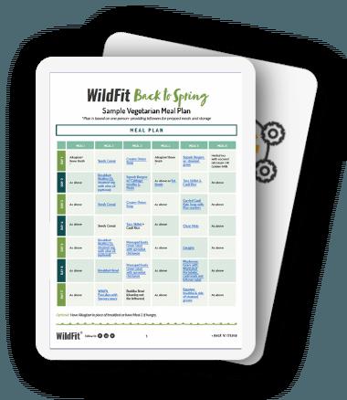 WildFit Vegetarian Meal Plan