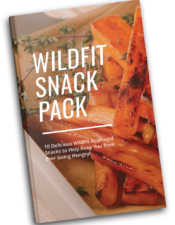 WildFit Living Cookbook - Snack Pack Ebook with dairy free, gluten free, keto, paleo recipes